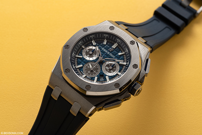 ap royal oak offshore titanium replica